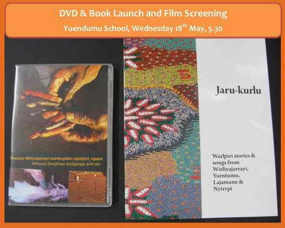 Yuendumu launch invitation
