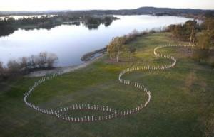 SIEV X Memorial http://www.sievxmemorial.com/images/sievx-memorial-poles-aerial.jpg