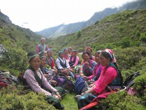 Photos from Lhakpa Tamang Jangba's Bakery in Kyangin Gompa in the Langtang Valley.
